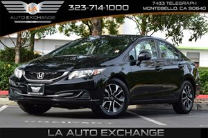 2013 Honda Civic Sdn EX Carfax 1-Owner - No AccidentsDamage Reported Convenience  Adjustable St