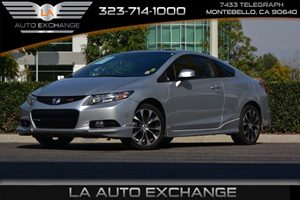 2013 Honda Civic Cpe Si Carfax Report  Alabaster Silver Metallic  We are not responsible for t