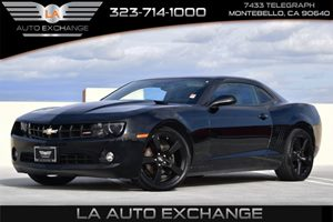 2012 Chevrolet Camaro 1LT Carfax Report - No AccidentsDamage Reported Alternator 150 Amps Conv