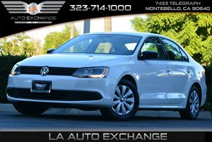 2013 Volkswagen Jetta Sedan S wSunroof Carfax 1-Owner Adjustable Front Center Armrest WStorage