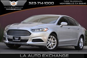2014 Ford Fusion SE Carfax 1-Owner - No AccidentsDamage Reported  Ingot Silver Metallic 183