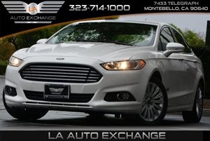 2014 Ford Fusion Energi SE Luxury Carfax 1-Owner  Oxford White Metallic  We are not responsibl