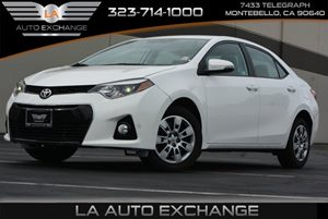 2016 Toyota Corolla L Carfax 1-Owner  Super White  We are not responsible for typographical er