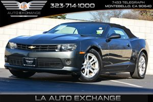 2015 Chevrolet Camaro LT Carfax 1-Owner - No AccidentsDamage Reported  Ashen Gray Metallic  W