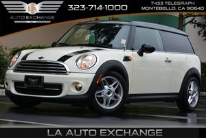 2014 MINI Cooper Clubman  Carfax 1-Owner - No AccidentsDamage Reported  Pepper White  We are