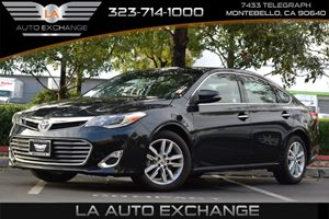 2015 Toyota Avalon XLE Touring Carfax 1-Owner 17 Gal Fuel Tank 324 Axle Ratio Airbag Occupanc