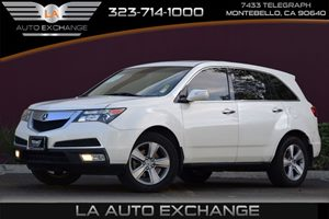 2010 Acura MDX  Carfax Report - No AccidentsDamage Reported Audio  Premium Sound System Conven