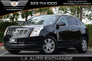 2016 Cadillac SRX Luxury Collection Carfax 1-Owner  Black Raven  We are not responsible for ty