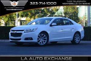 2015 Chevrolet Malibu LT Carfax Report  Summit White  We are not responsible for typographical