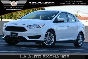 2015 Ford Focus SE Carfax 1-Owner  Oxford White  We are not responsible for typographical erro