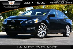 2015 Nissan Altima 25 S Carfax 1-Owner  Super Black  We are not responsible for typographical