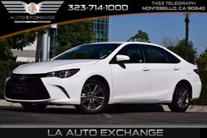 2015 Toyota Camry SE Carfax 1-Owner 363 Axle Ratio Convenience  Steering Wheel Audio Controls