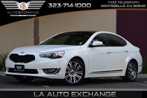 2014 Kia Cadenza Premium Carfax 1-Owner - No AccidentsDamage Reported 304 Axle Ratio Audio  P