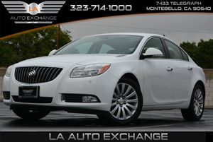 2013 Buick Regal Turbo Premium 1 Carfax Report - No AccidentsDamage Reported  Summit White  W