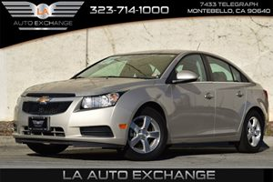 2014 Chevrolet Cruze 1LT Carfax 1-Owner Alternator 130 Amps Convenience  Adjustable Steering W