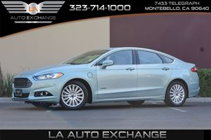 2013 Ford Fusion Energi Titanium Carfax 1-Owner - No AccidentsDamage Reported  Deep Impact Blu