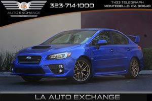 2015 Subaru WRX STI Launch Edition Carfax 1-Owner - No AccidentsDamage Reported  WR Blue Pearl