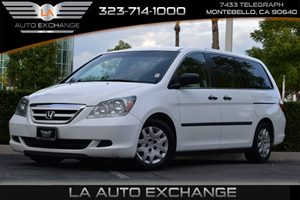 2007 Honda Odyssey LX Carfax Report - No AccidentsDamage Reported Childproof Rear Door Locks Co