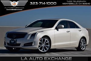 2014 Cadillac ATS Premium AWD Carfax 1-Owner Audio  Premium Sound System Child Seat Restraint S
