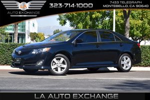 2014 Toyota Camry SE Carfax 1-Owner - No AccidentsDamage Reported  Attitude Black Metallic -