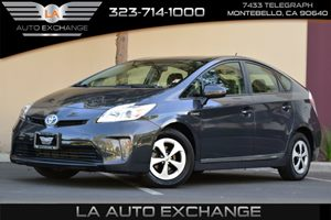 2013 Toyota Prius One Carfax 1-Owner - No AccidentsDamage Reported  Winter Gray Metallic  18