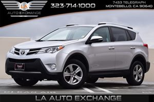 2015 Toyota RAV4 XLE Carfax 1-Owner - No AccidentsDamage Reported Convenience  Adjustable Steer