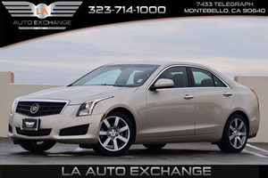 2014 Cadillac ATS Standard RWD Carfax 1-Owner  Radiant Silver Metallic  We are not responsible