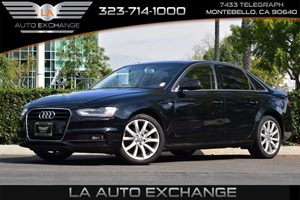2014 Audi A4 Premium Carfax 1-Owner - No AccidentsDamage Reported  Brilliant Black  We are no