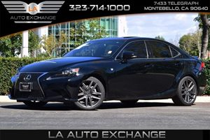 2015 Lexus IS 250  Carfax 1-Owner - No AccidentsDamage Reported  Black -25999 34492 Per