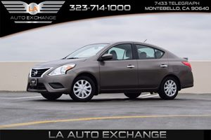 2015 Nissan Versa SV Carfax 1-Owner - No AccidentsDamage Reported  Amethyst Gray   -9999