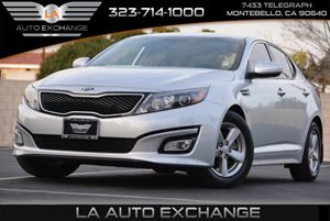 2014 Kia Optima LX Carfax 1-Owner  Bright Silver  We are not responsible for typographical err