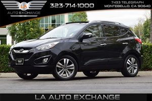 2014 Hyundai Tucson Limited Carfax 1-Owner - No AccidentsDamage Reported  Ash Black -19999