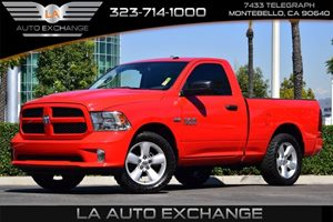 2015 Ram 1500 Express Carfax 1-Owner 1520 Maximum Payload 160 Amp Alternator 321 Rear Axle Ra