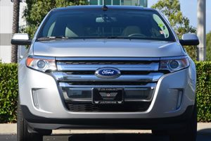 2013 Ford Edge SEL Carfax 1-Owner - No AccidentsDamage Reported  Ingot Silver Metallic 2419