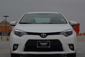 2014 Toyota Corolla LE Carfax 1-Owner - No AccidentsDamage Reported  Super White -12999