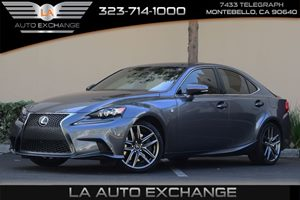 2014 Lexus IS 350  Carfax 1-Owner - No AccidentsDamage Reported 100 Amp Alternator 313 Axle Ra