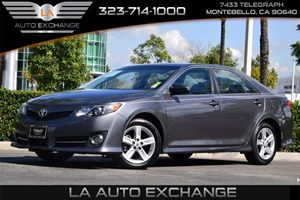 2014 Toyota Camry LE Carfax 1-Owner  Magnetic Gray Metallic  We are not responsible for typogr