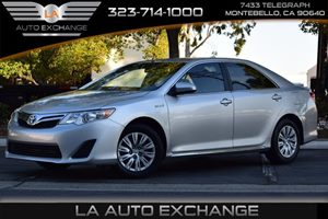 2014 Toyota Camry Hybrid LE Carfax 1-Owner - No AccidentsDamage Reported  Classic Silver Metal