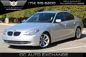 2008 BMW 5 Series 535i Carfax Report  Titanium Silver Metallic  We are not responsible for typ