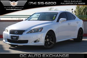 2009 Lexus IS 250  Carfax Report  White          16008 Per Month - On Approved Credit