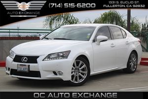2015 Lexus GS 350  Carfax 1-Owner  Ultra White  We are not responsible for typographical error