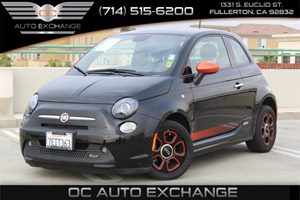 2014 FIAT 500e  Carfax 1-Owner  Nero Puro Straight Black          1098 Per Month - On Appr