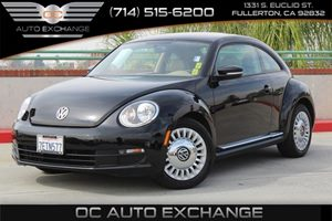 2014 Volkswagen Beetle Coupe 25L Carfax 1-Owner - No AccidentsDamage Reported  Black Uni