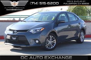 2014 Toyota Corolla LE Carfax 1-Owner  Blue          16008 Per Month - On Approved Credit