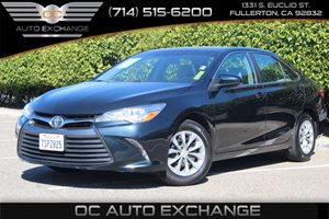 2015 Toyota Camry LE Carfax Report - No AccidentsDamage Reported  Cosmic Gray Mica