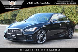 2014 INFINITI Q50 Sport Carfax 1-Owner - No AccidentsDamage Reported  Black Obsidian
