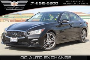 2014 INFINITI Q50 Sport Carfax Report - No AccidentsDamage Reported  Black Obsidian