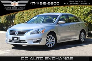 2014 Nissan Altima 25 S Carfax 1-Owner  Brilliant Silver Metallic 15893 Per Month - On Appr
