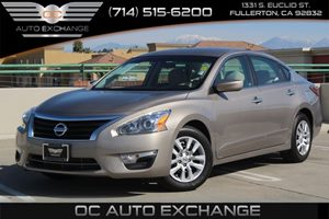 2014 Nissan Altima 25 S Carfax 1-Owner - No AccidentsDamage Reported  Tan          16658 P