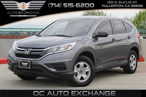 2015 Honda CR-V LX Carfax 1-Owner  Gray  We are not responsible for typographical errors All